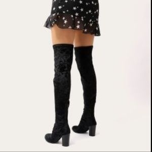 Report Everest Thigh High Over the Knee Boots Shoe